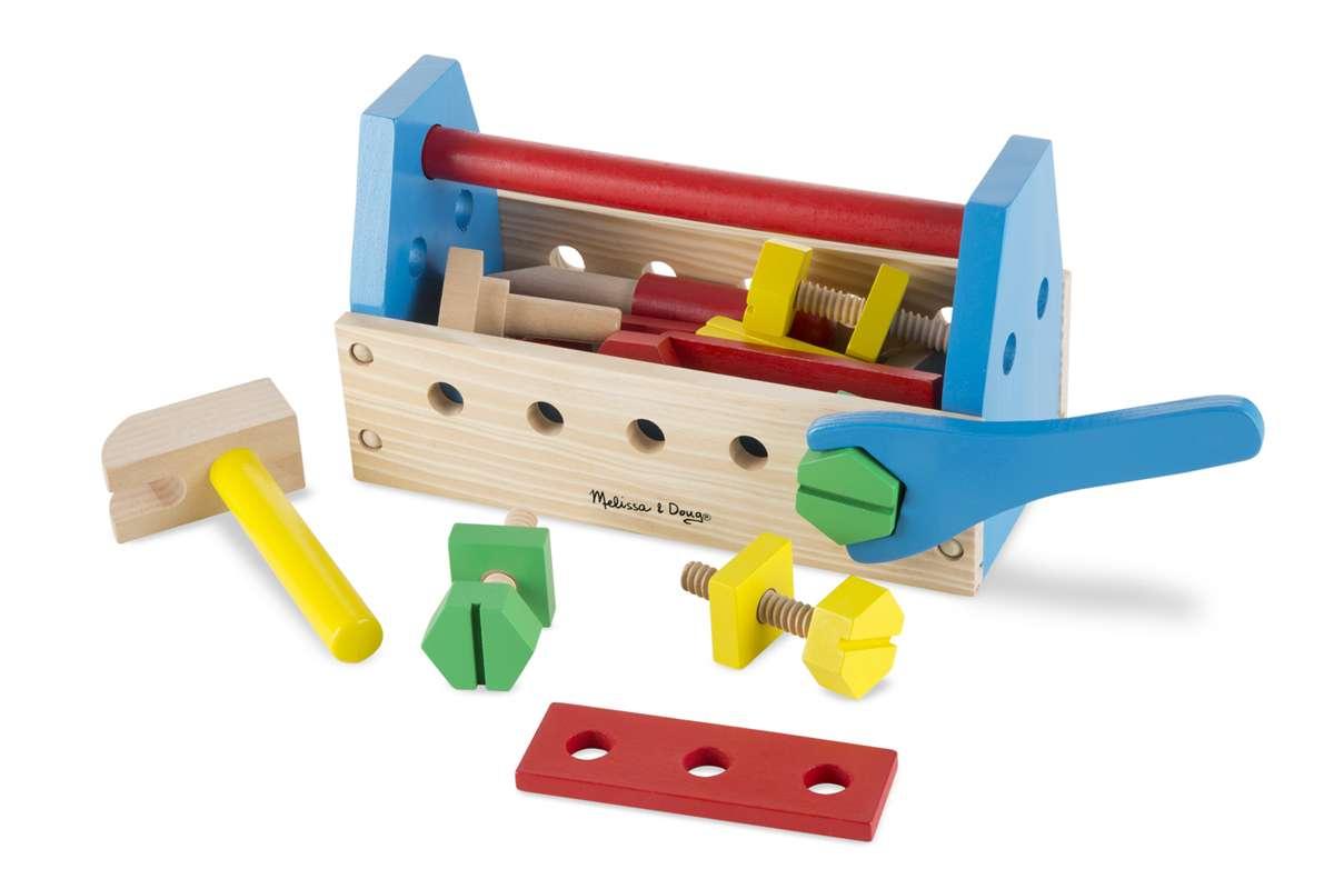 Melissa&Doug Tool Kit Darbarīku kaste ar instrumentiem