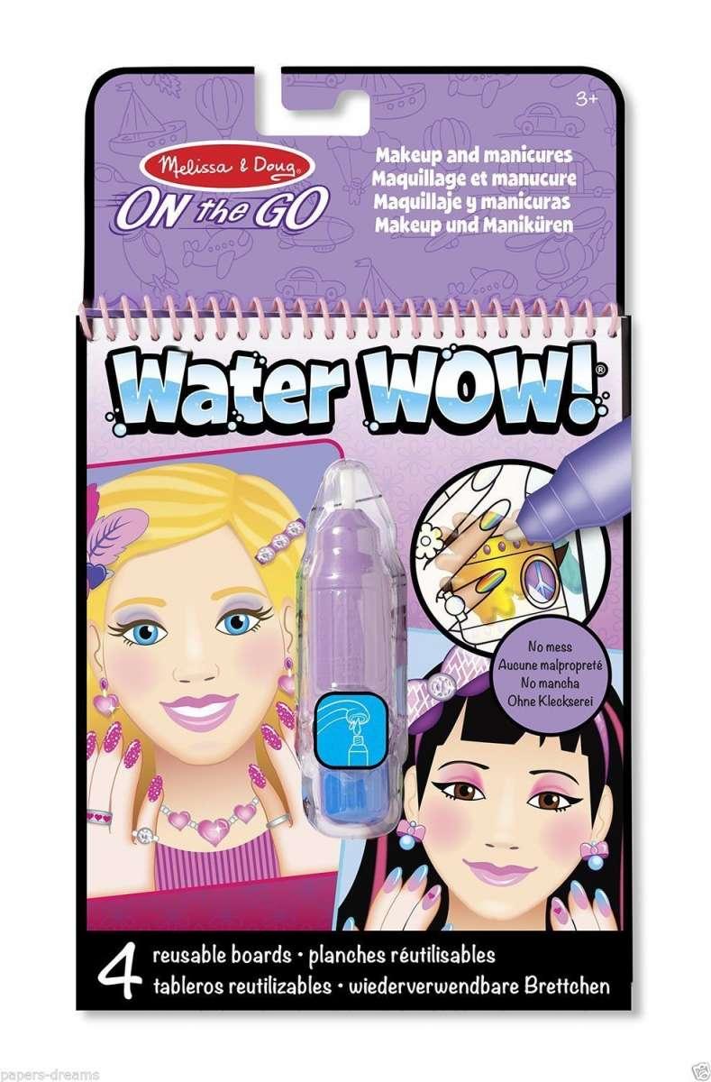 Melissa&Doug Water Wow Krāsojamās lapas