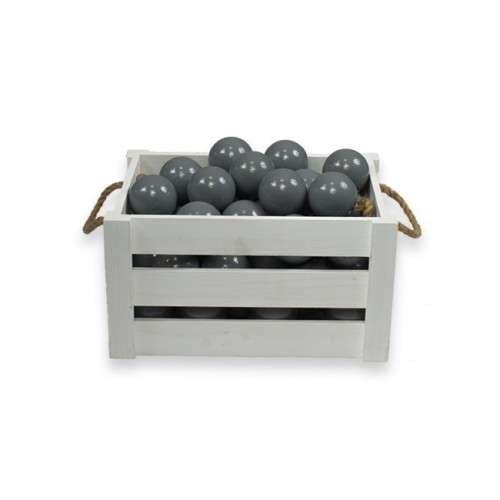 Meow Extra Balls Grey Baseina bumbiņas 7 cm, 50 gab.