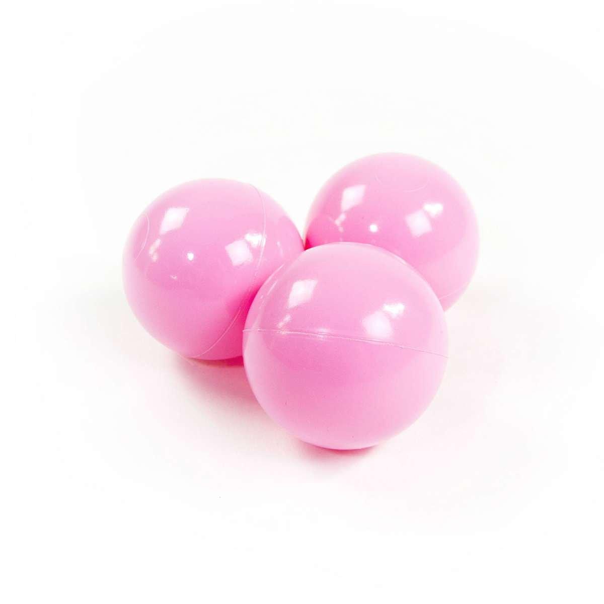 Meow Extra Balls Light Pink Baseina bumbiņas 7 cm, 50 gab.