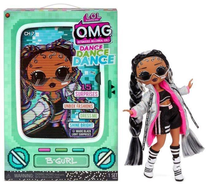 MGA LOL Surprise OMG Dance B-Gurl Fashion Doll 15+ Surprises