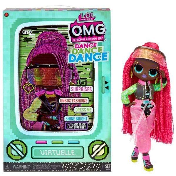 MGA LOL Surprise OMG Dance Virtuelle Fashion Doll 15+ Surprises