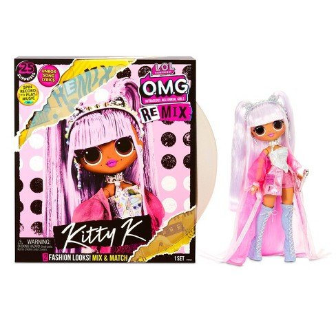 MGA LOL SURPRISE O.M.G. Remix Kitty K Fashion Doll