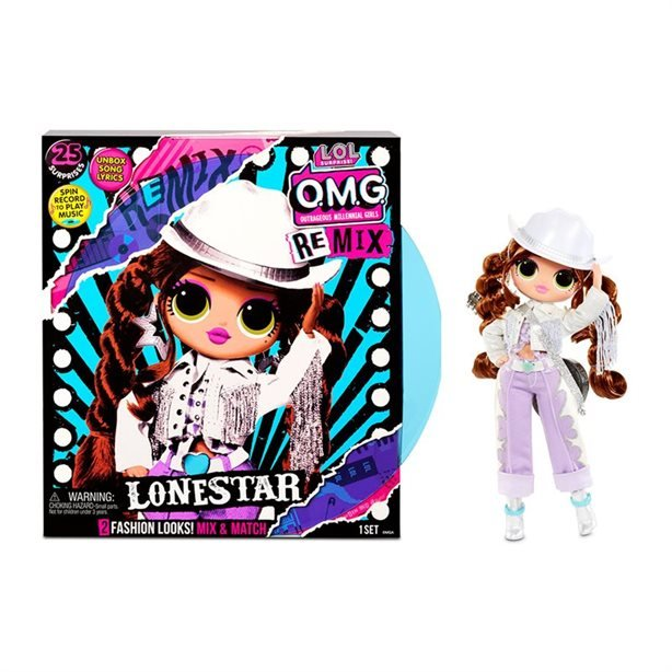 MGA LOL SURPRISE O.M.G. Remix Lonestar Fashion Doll