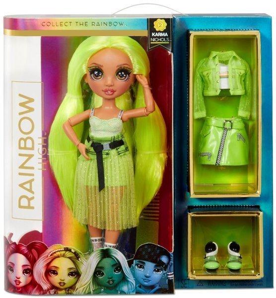 MGA Rainbow high fashion doll Karma Nichols lelle