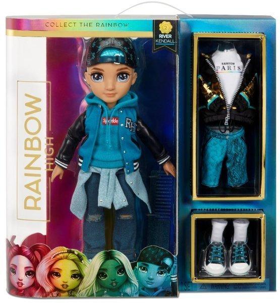 MGA Rainbow Teal Boy high fashion doll River Kendall lelle