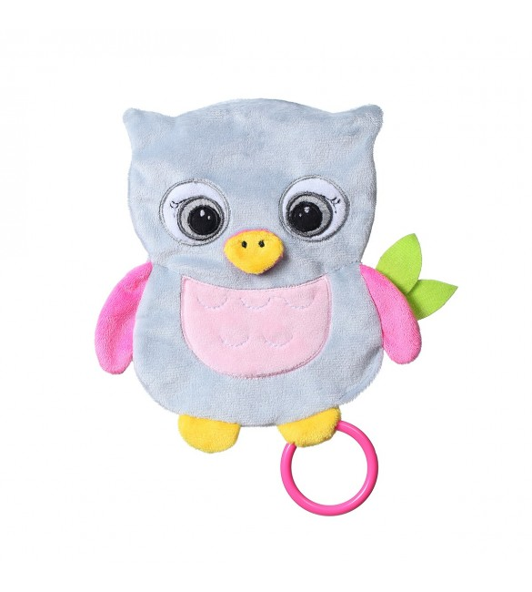 Miega lupatiņa BabyOno OWL CELESTE ONO-446