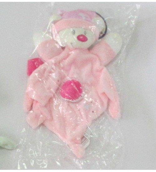 Miega lupatiņa Lācis rozā krāsā 30 cm 149954-3