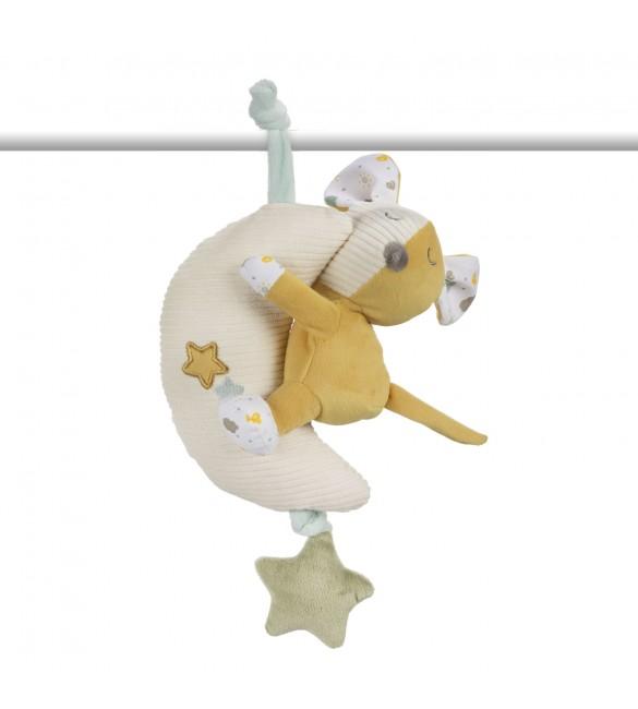 Mīkstā muzikāla rotaļlieta Canpol MOUSE 77/202