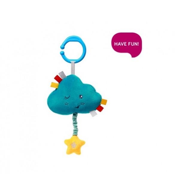 Mīkstā mūzikālā rotaļļieta LULLABY CLOUD Babyono 616