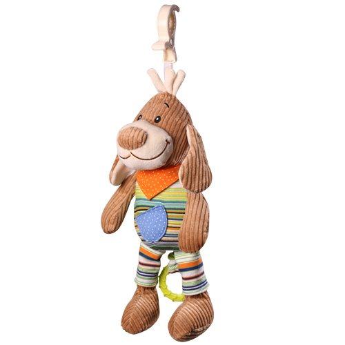 Mīkstā mūzikālā rotaļļieta Sunītis BABYONO SPARKY THE DOG 1124