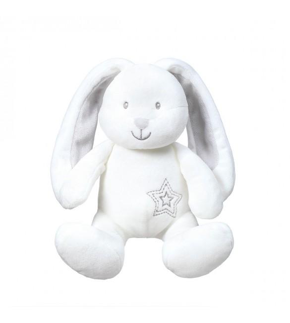 Mīksta rotaļlieta ar grabuli BabyOno HARE JIMMIE 1164 (FC)