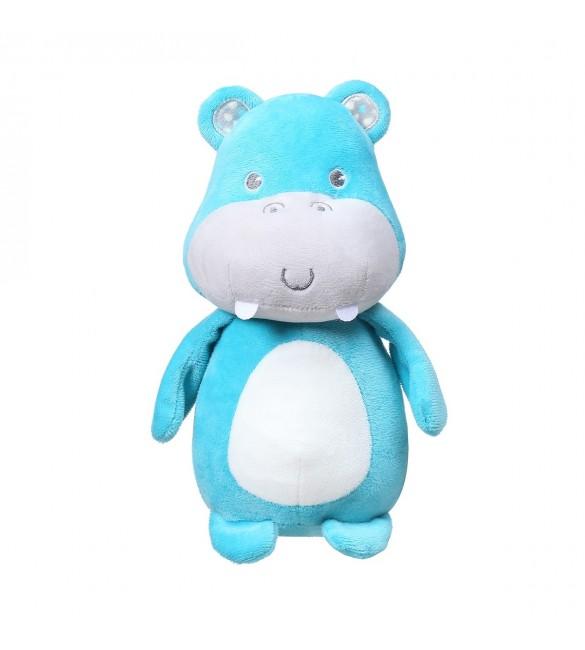 Mīksta rotaļlieta ar grabuli BabyOno HIPPO MARCEL 1158 (FC)