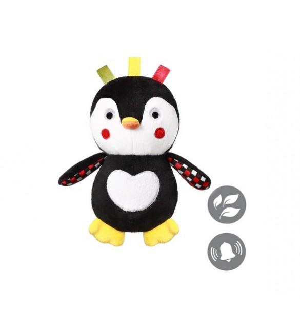 Mīkstā rotaļlieta ar grabuli Pingvīns BabyOno CONNOR 640