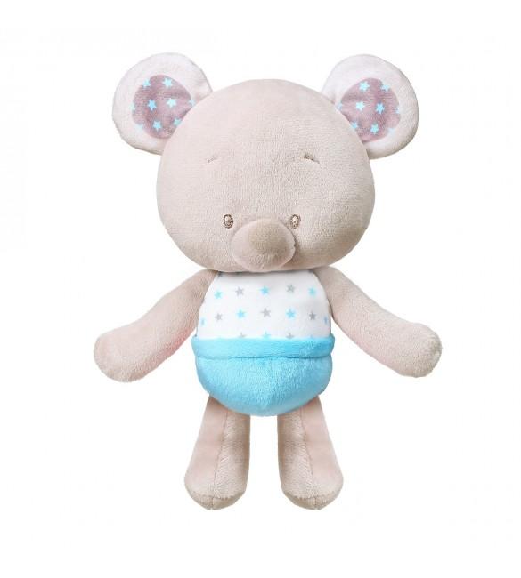 Mīksta rotaļlieta BEAR TONY ar grabuli BabyOno 1228