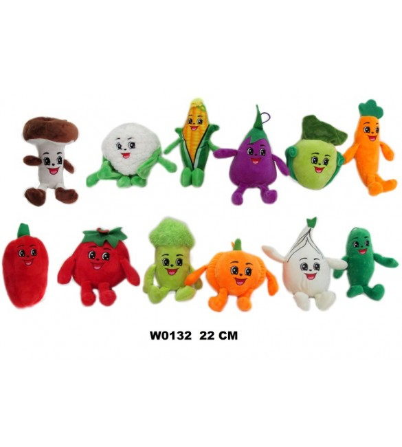 Mīksta rotaļlieta Dārzeņi 22 cm SUN DAY W0132
