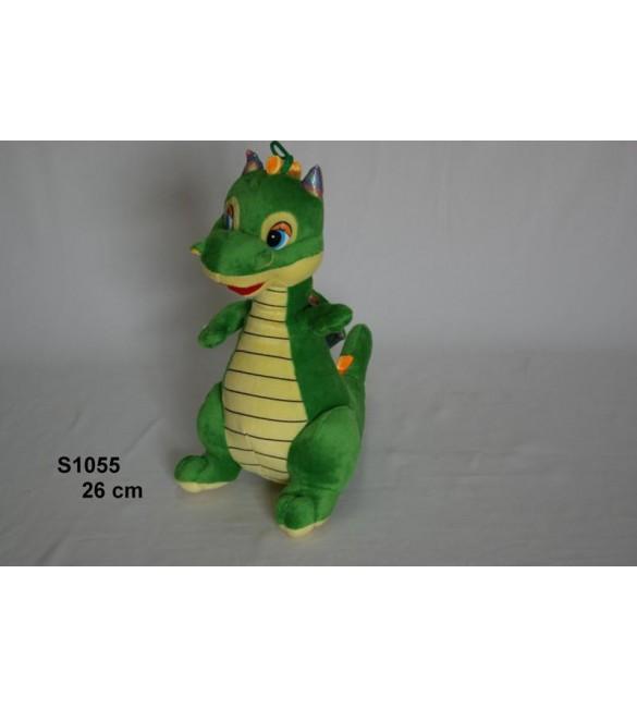 Mīkstā rotaļļieta Dinozauriņš SMOK 26 cm SUN DAY S1055