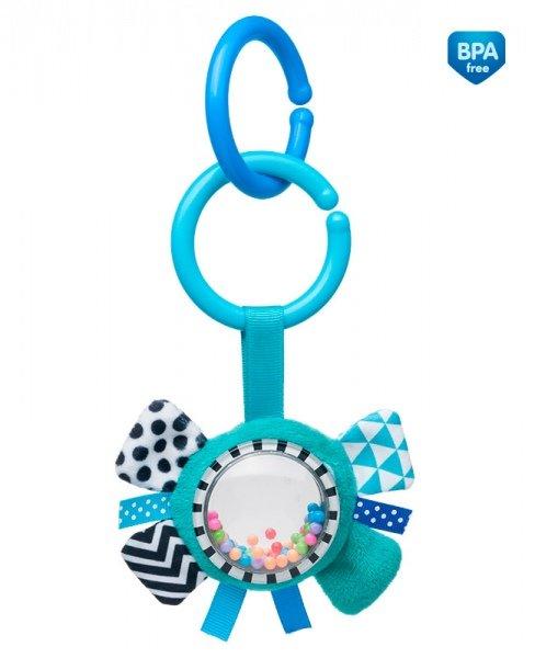Mīksta Rotaļlieta-Grābulis ar pakaramoCanpol  Ribbon blue  68/057
