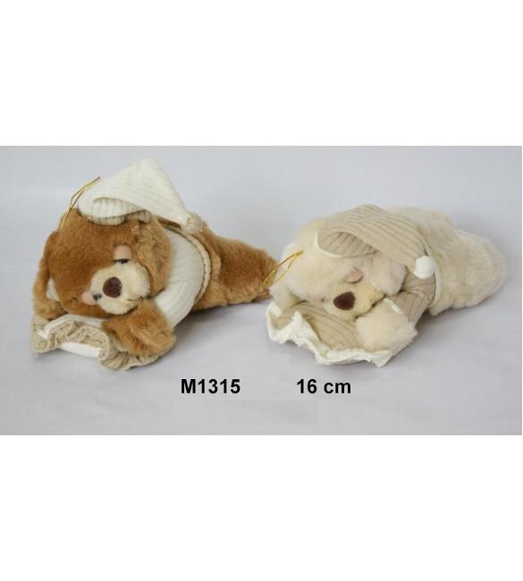 Mīkstā rotaļlieta Lācis krācošs 16 cm SUN-DAY Sandy M1315