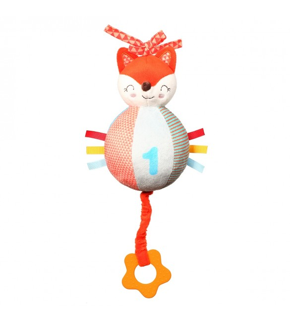 Mīkstā rotaļlieta muzikāla BabyOno FOX VINCENT 1167