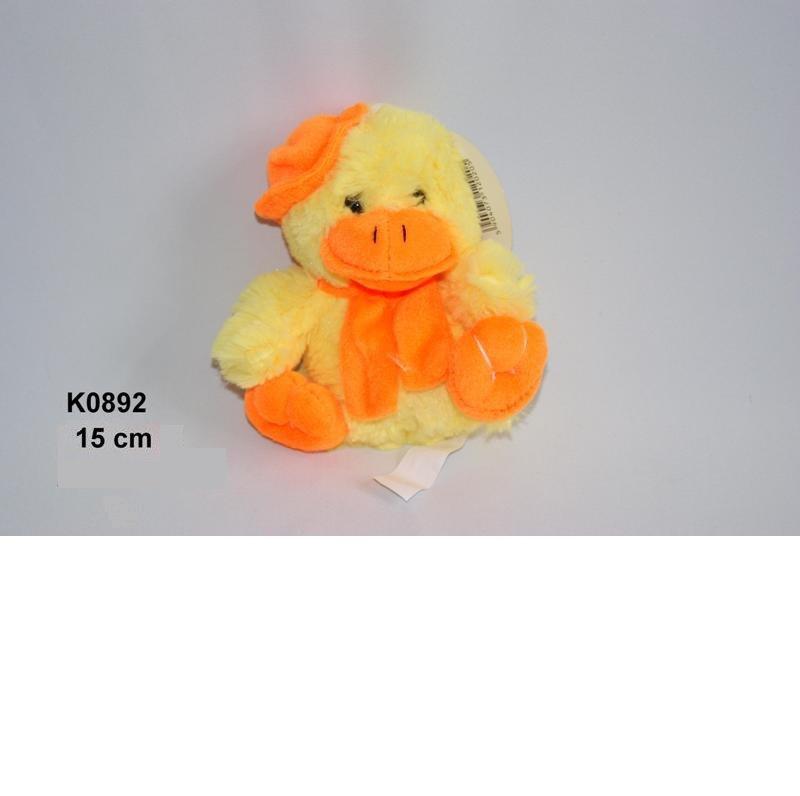 Mīkstā rotaļļieta pīlēns ar skaņu 15 cm SUN DAY K0892