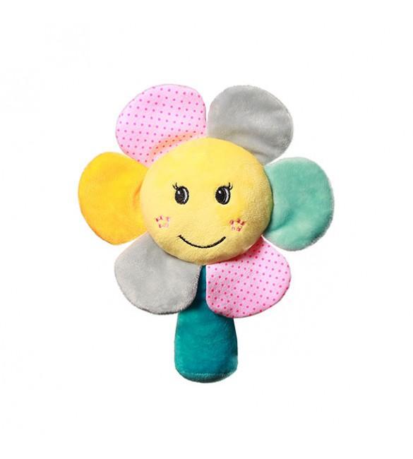 Mīkstā rotaļlieta Puķīte ar čaukstošām lapiņām BabyOno 609