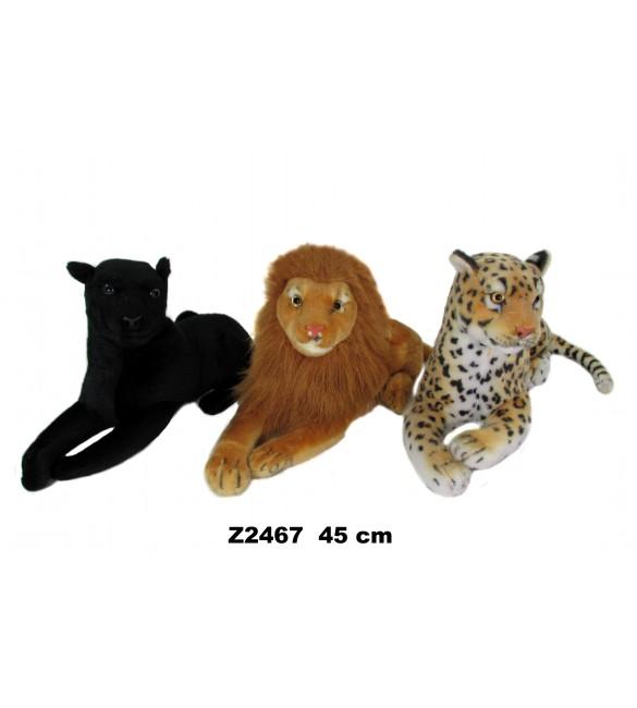 Mīksta rotaļlieta Savvaļas zvēriņi SUN-DAY 45 cm Sandy Z2467