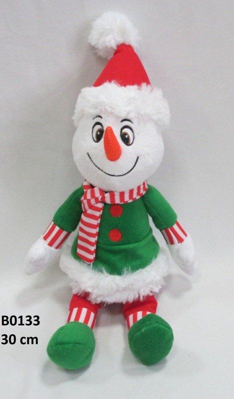 Mīkstā rotaļļieta Sniegavīrs 30 cm SUN DAY B0133