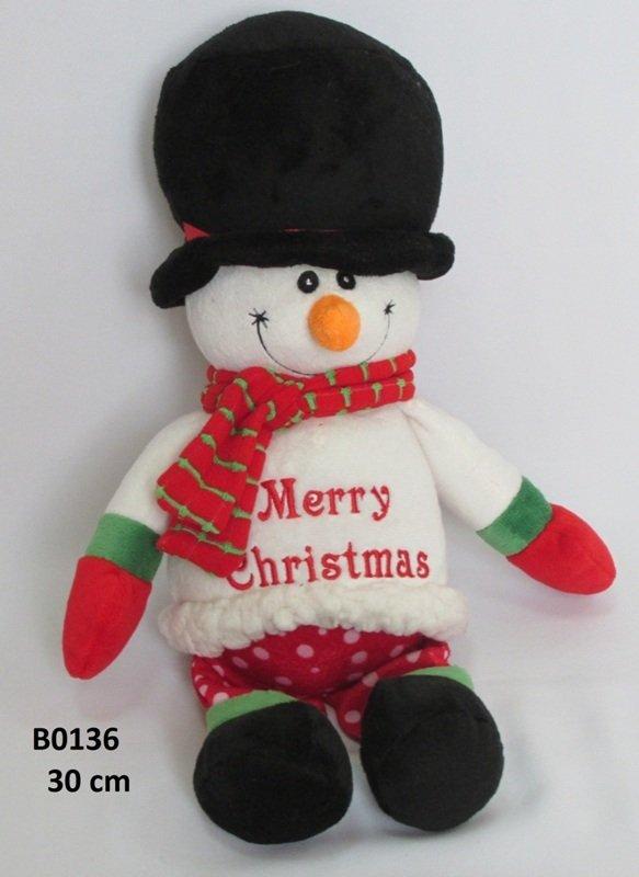 Mīkstā rotaļļieta Sniegavīrs 30 cm SUN DAY B0136
