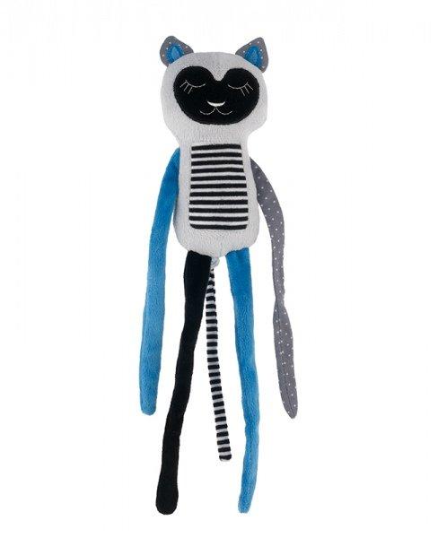 Mīkstās rotaļlieta LEMUR  Canpol blue 68/059