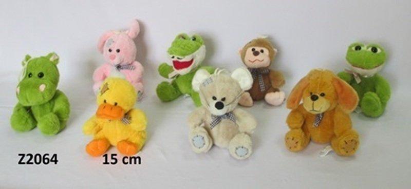 Mīkstās rotaļļietas zvēriņi 15 cm SUN DAY Z2064