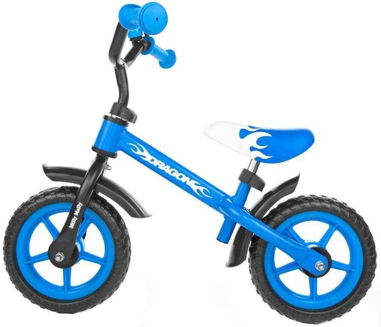 MillyMally Dragon Blue Bērnu skrejritenis ar metālisko rāmi 10''