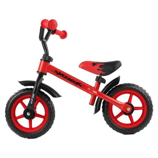 MillyMally Dragon Red Bērnu skrejritenis ar metālisko rāmi 10''