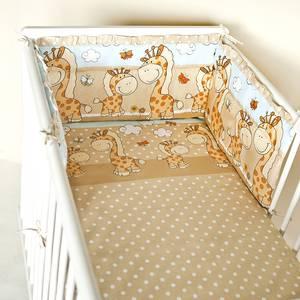 MimiNu Baby Gultas veļas komplekts 2-dalīgs 100x135 cm
