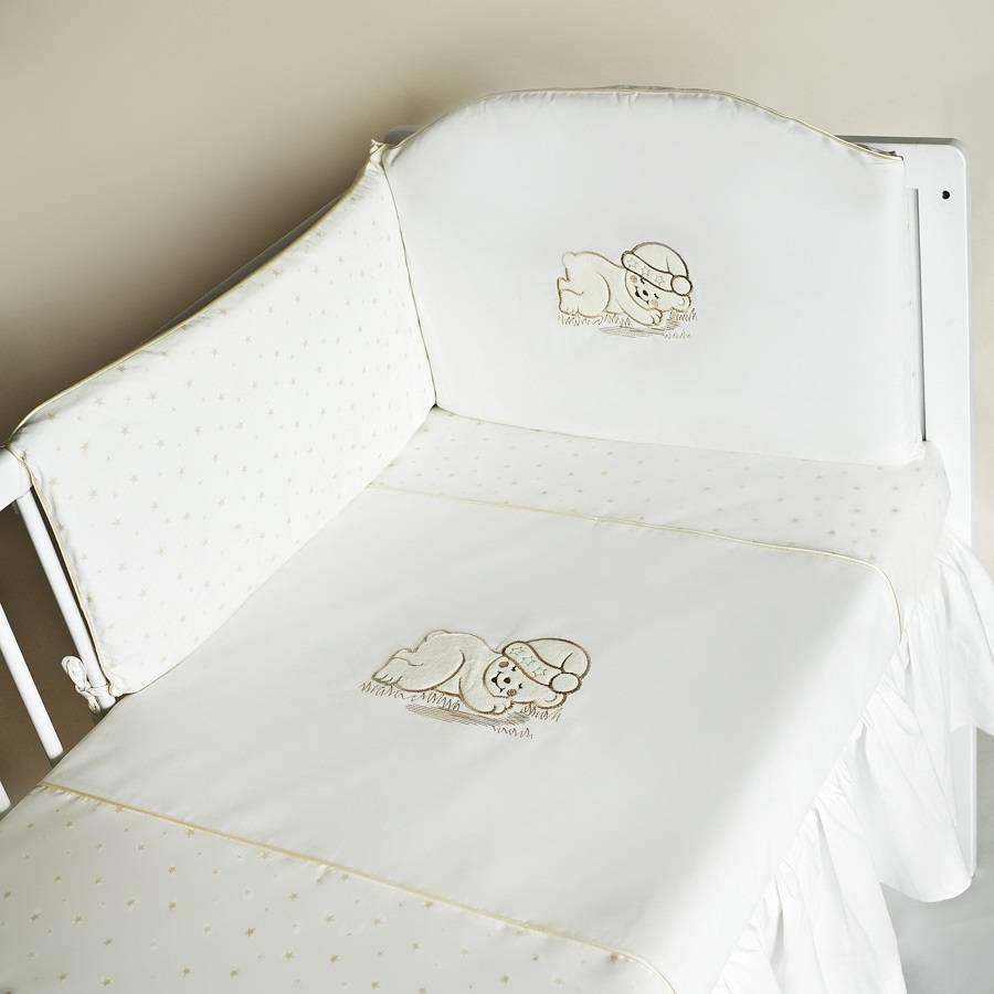 MimiNu Gultas veļas komplekts no 3 daļām 135x100 cm