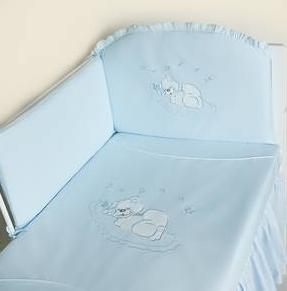 MimiNu Veļas komplekts gultai (6 daļas) 90x40 cm