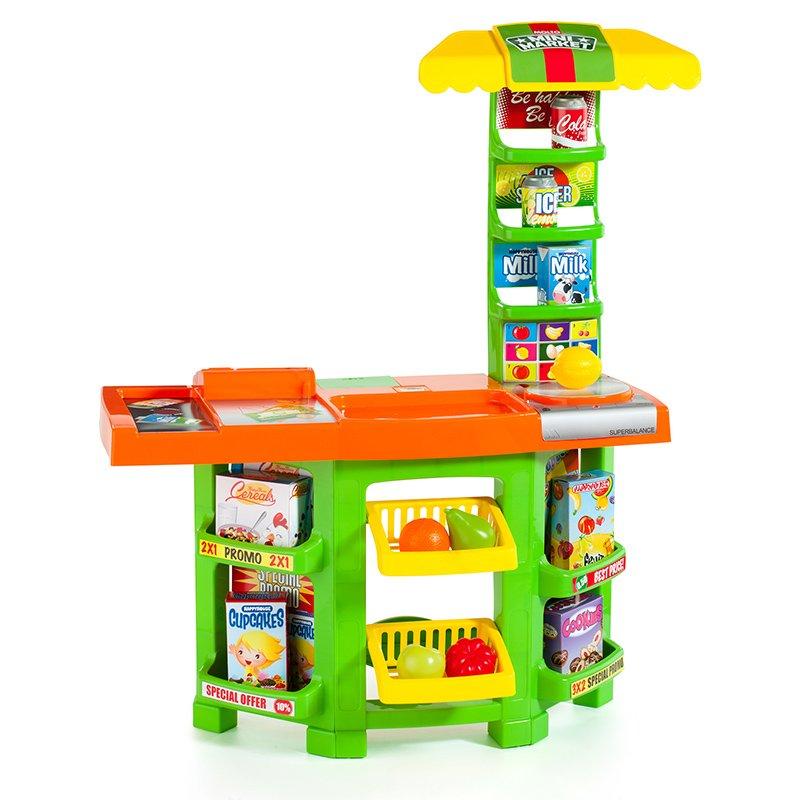 Molto Mini Market Bērnu mini veikals ar 14 aksesuāriem