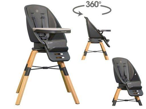 Muuvo Choc Graphite 3in1 Bērnu krēsls-transofmeris