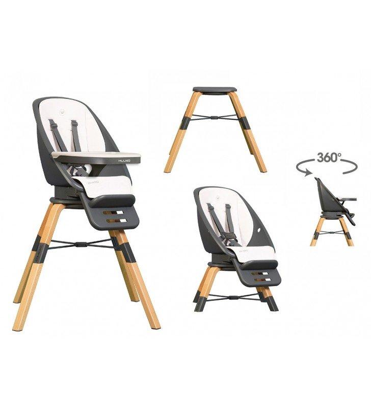 Muuvo Choc White 3in1 Bērnu krēsls-transofmeris