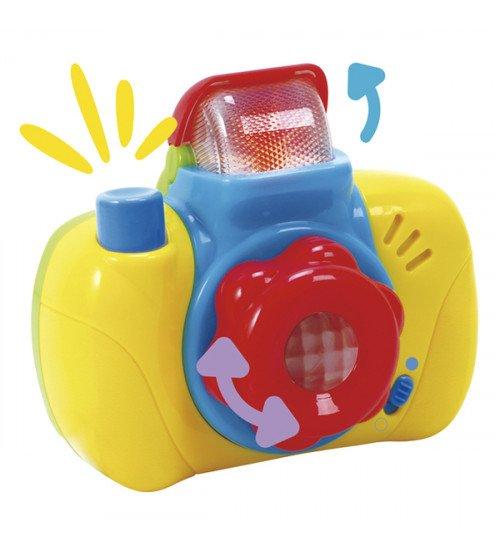 Muzikāla rotaļlieta Fotoaparāts ar skaņu un gaismu CB42517