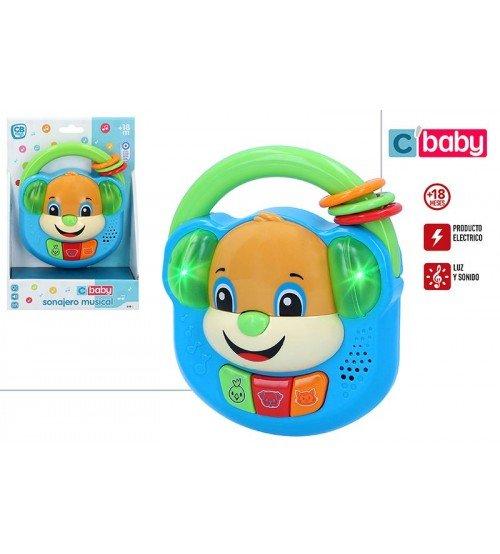 Muzikāla rotaļlieta Suns ar skaņu un gaismu CB49029