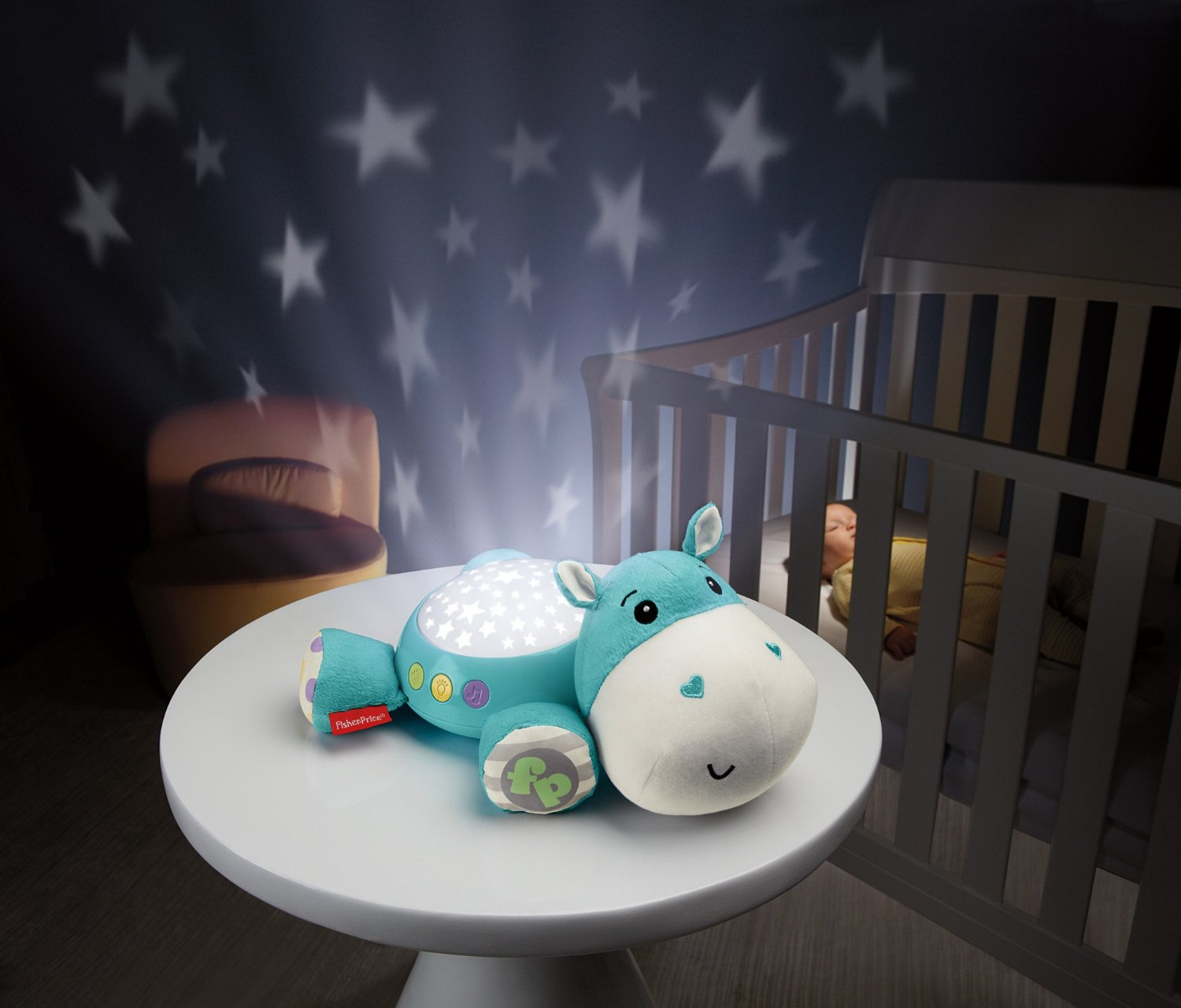 Naktslampiņa Muzikālā Fisher Price Cuddle Projection Soother CGN86