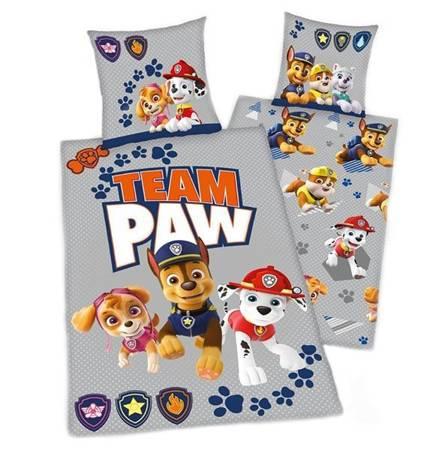 Nickelodeon Paw Patrol Kokvilnas gultas veļas komplekts no 2 daļām 140x200