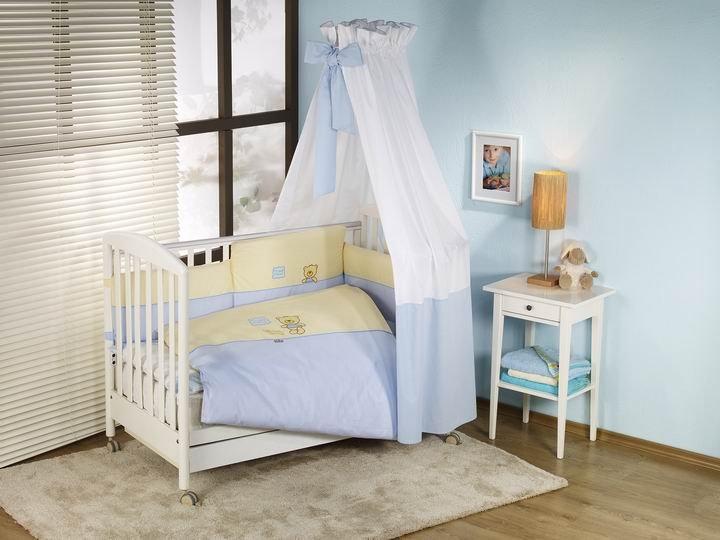 NINO-ESPANA Bērnu gultas veļas kokvilnas komplekts Los Amigos Beige 4bb