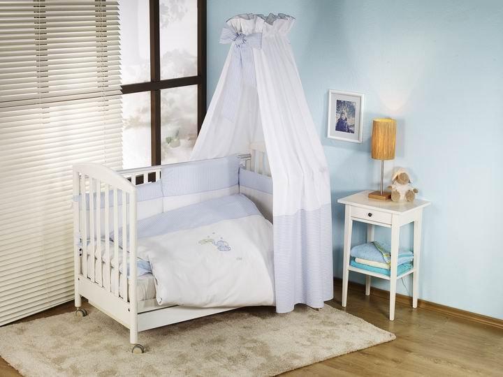 NINO-ESPANA Bērnu gultas veļas komplekts Elefante Blue 2