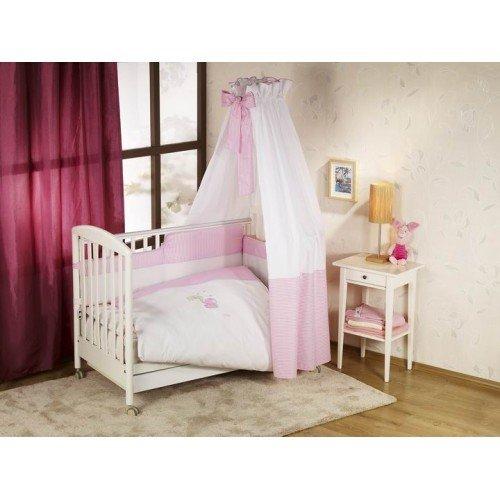 NINO-ESPANA Bērnu gultas veļas komplekts Elefante pink 2