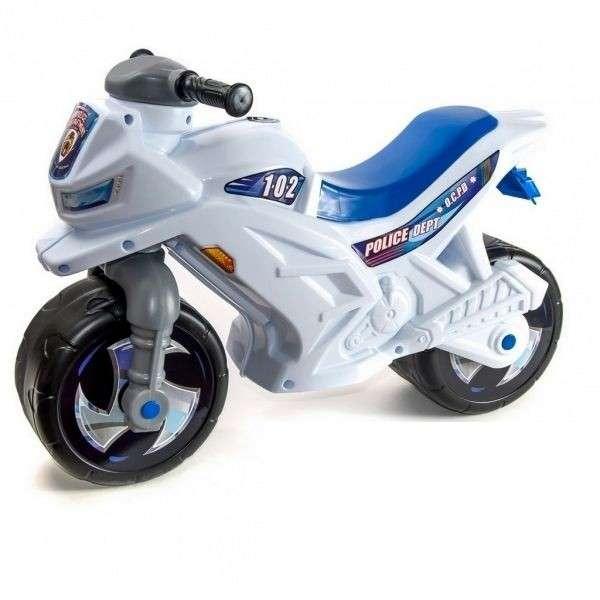 Orion Toys Police  Bērnu stumjamais motocikls