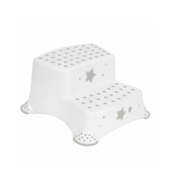 Pakāpiens - paliktnis Keeper 'STARS Cosmic' white
