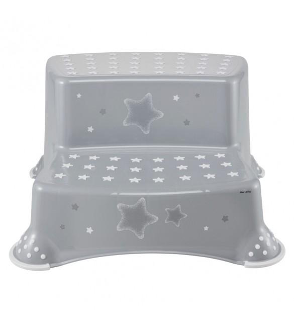 Pakāpiens - paliktnis Keeper STARS COSMIC grey