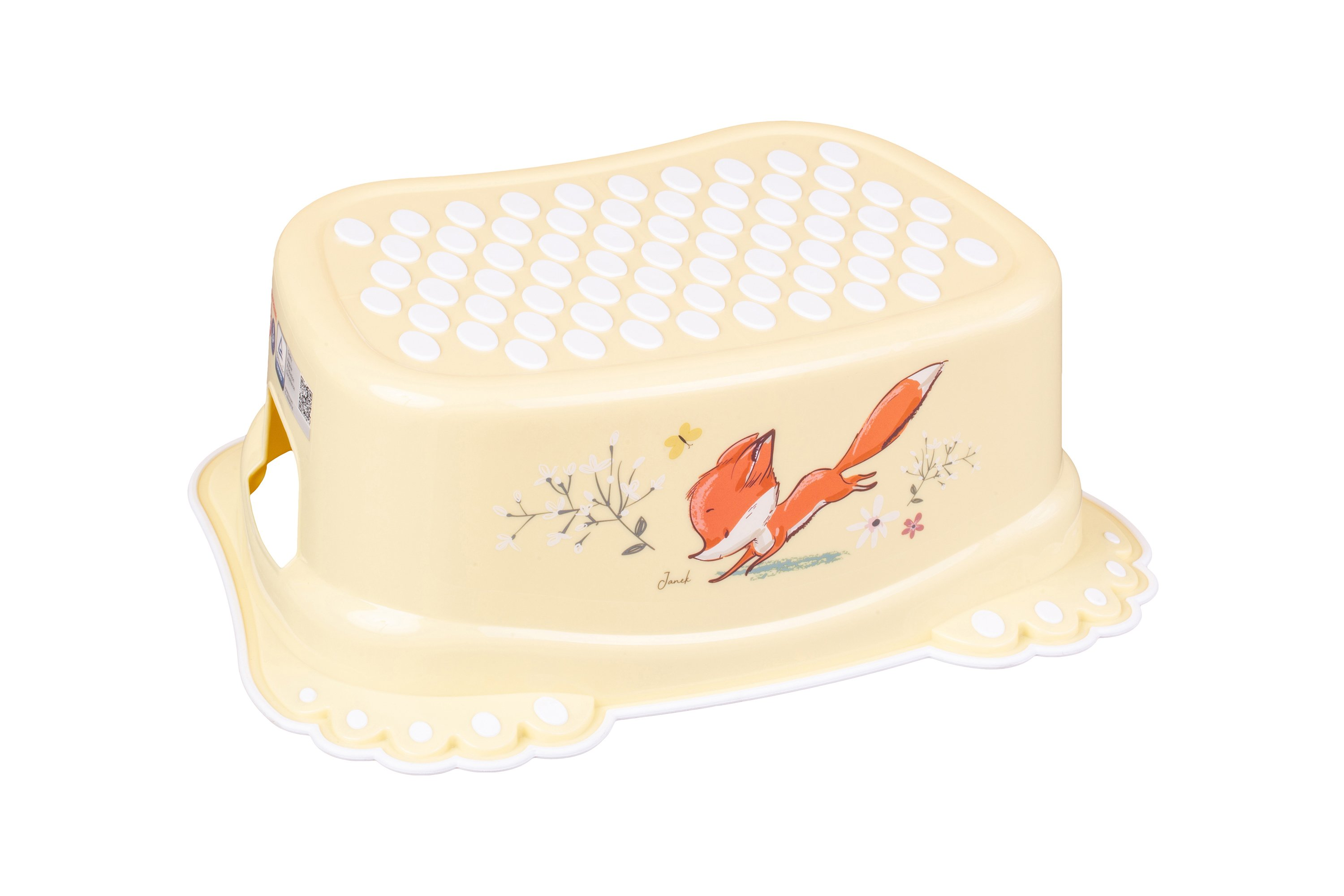 Pakāpiens - paliktnis Tega Baby FOREST FAIRYTALE light yellow FF-006